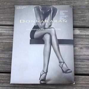 Donna Karan Hosiery Ultra Sheer Control Top Black
